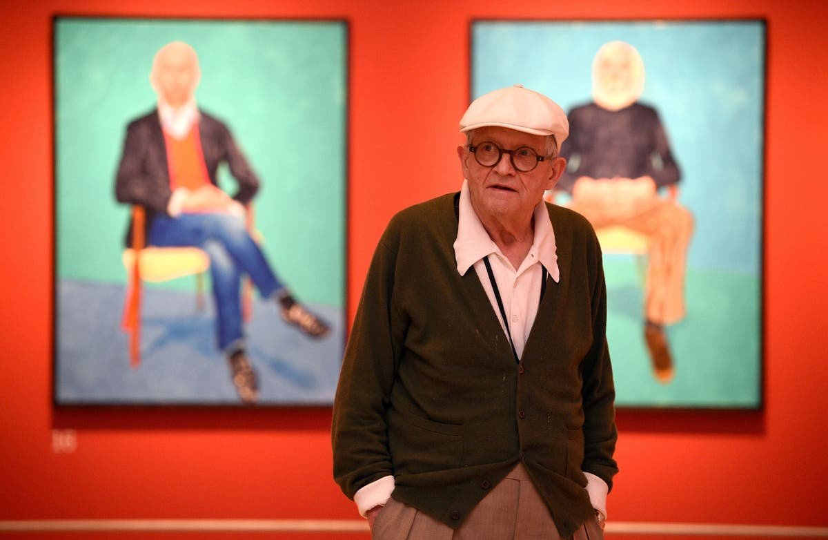 New David Hockney art to be shown in Piccadilly Circus