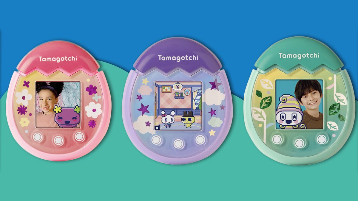 Photos of the Tamagotchi Pix.