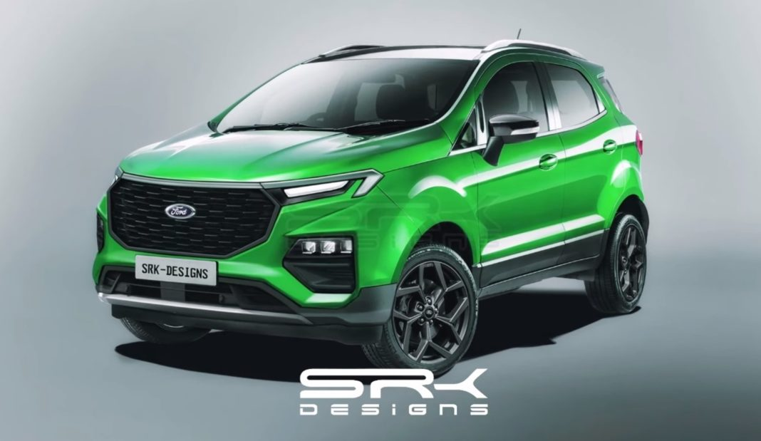 next generation Ford EcoSport rendering