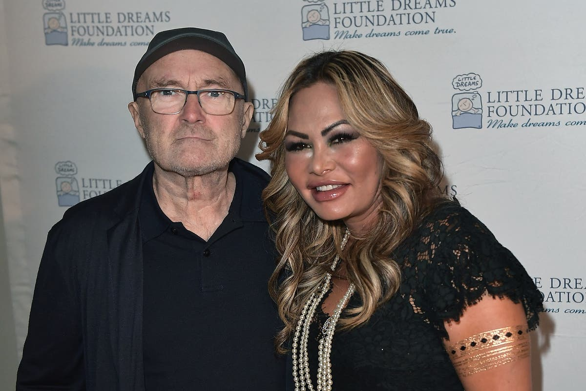 Phil Collins' ex-wife says she felt 'trapped in golden cage'