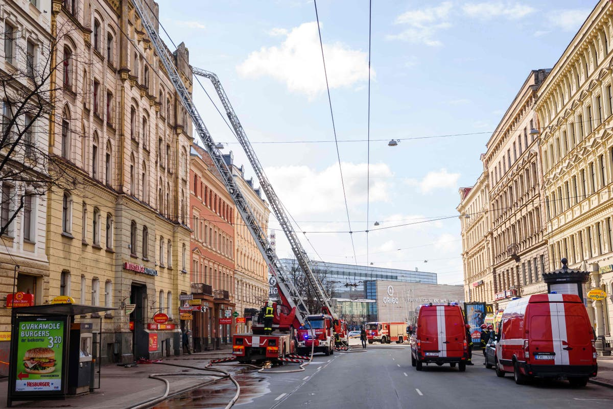 Riga hostel blaze kills eight people including foreign nationals