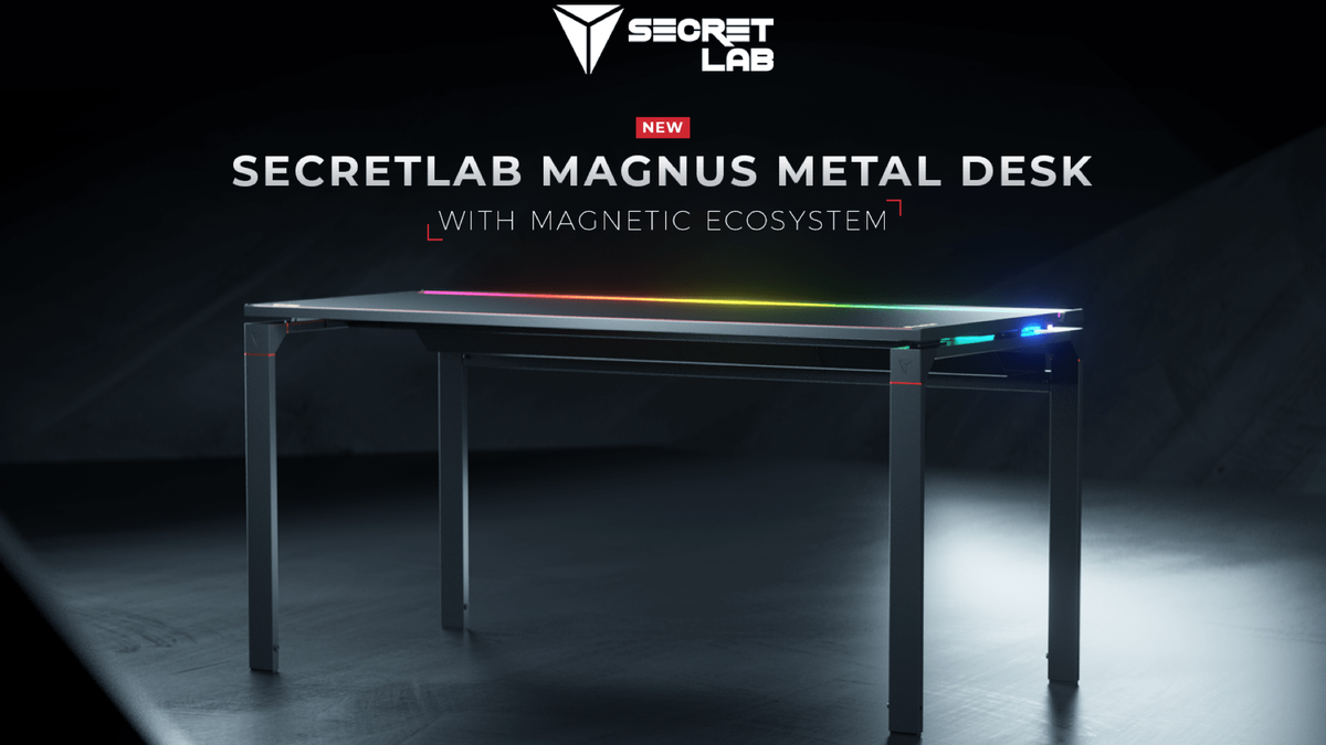 Secretlabs Magnus metal desk