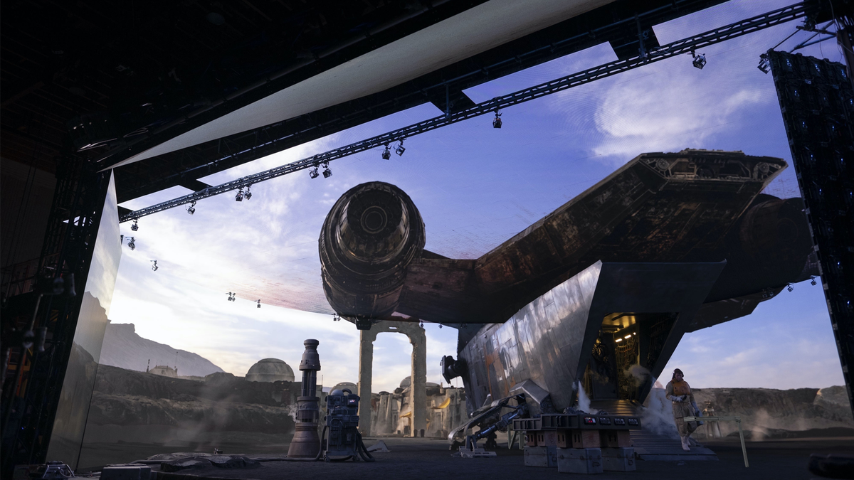 ILM's StageCraft and the volume LED stage