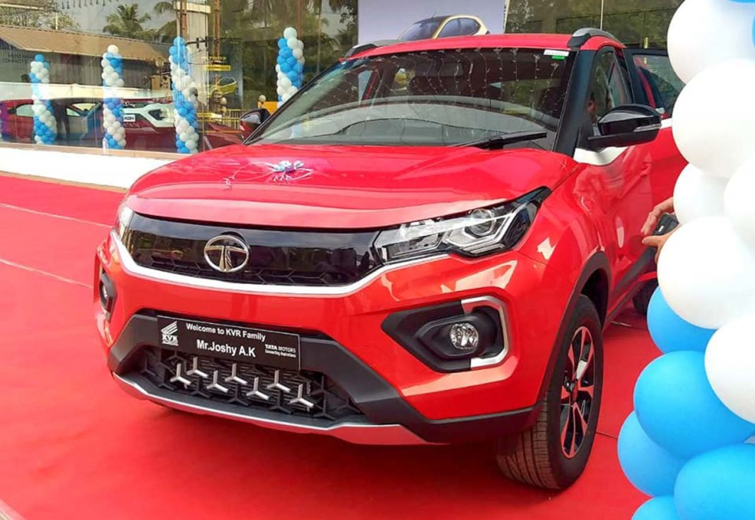 Tata Nexon front three quarter