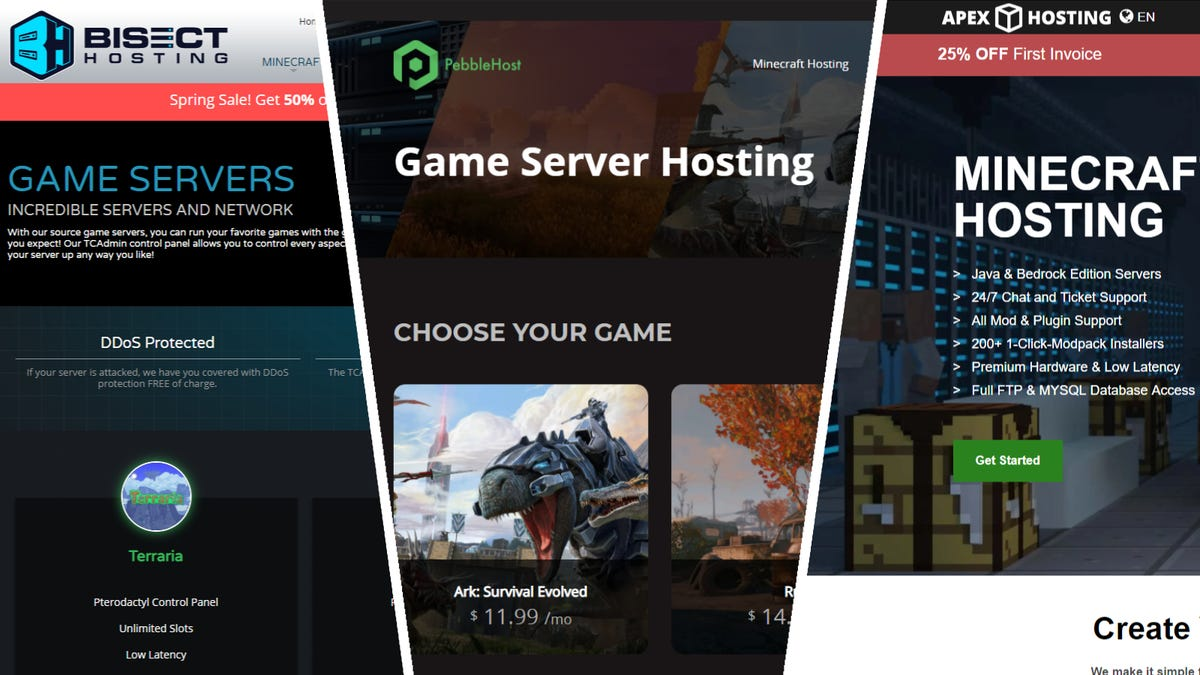 The 4 Best Websites to Rent Game Servers from