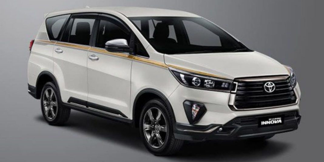 Toyota Innova Crysta 50th Anniversary Edition 3