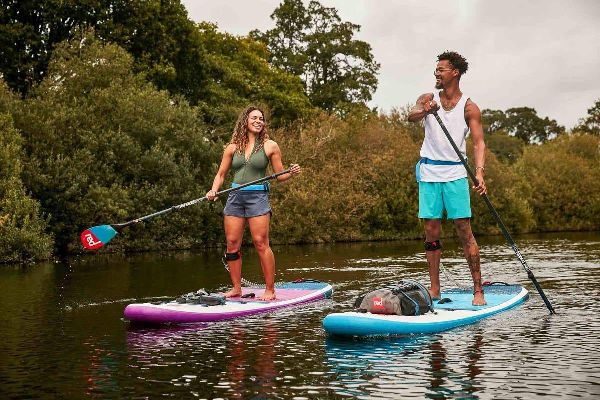 What's SUP? A guide to paddleboarding in London