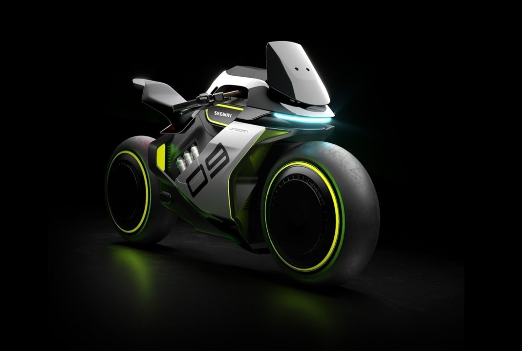 Segway Apex H2 concept front angle