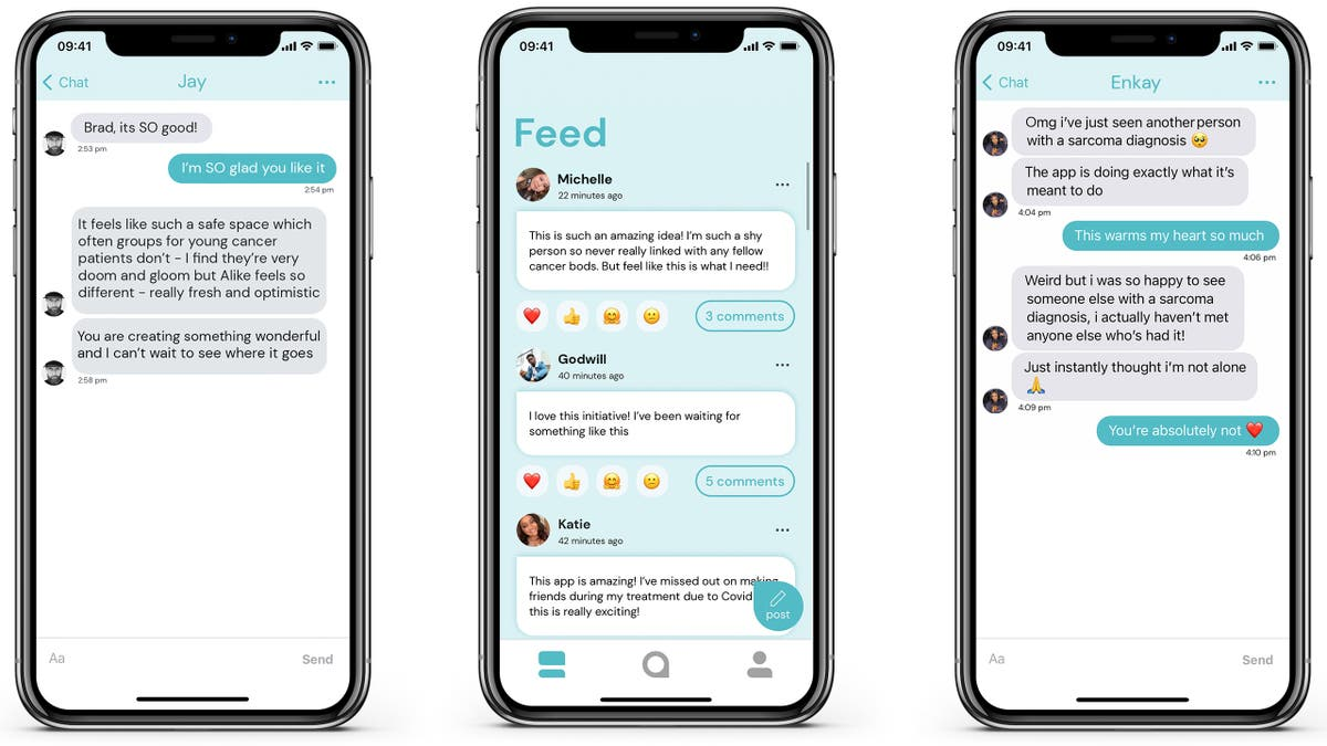 Young cancer survivor aims to raise £250k to expand app helping patients connect for support