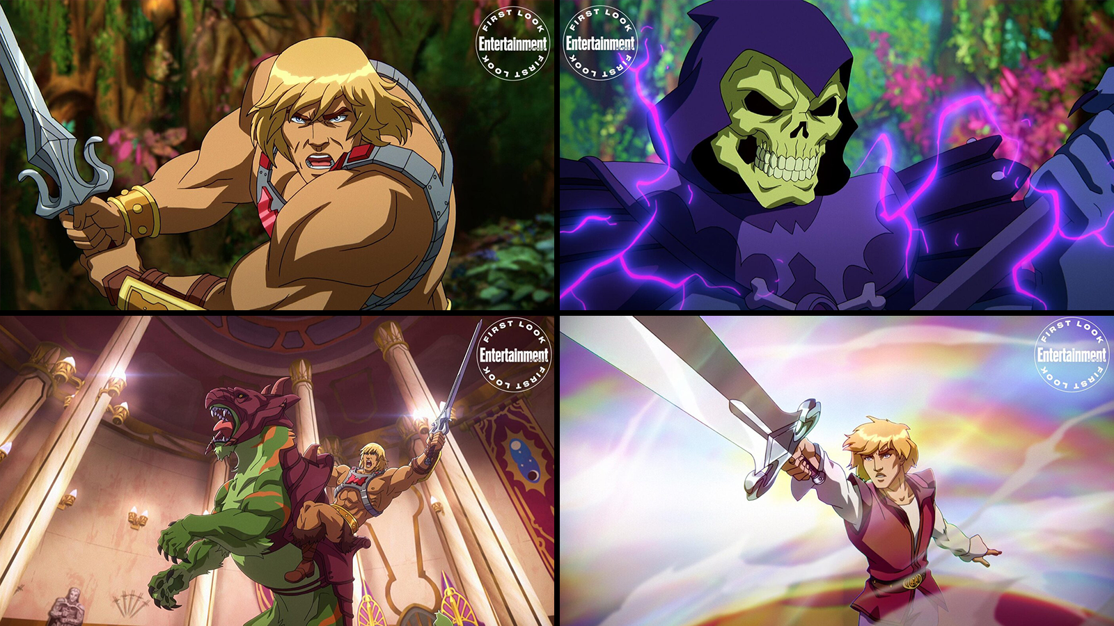 """Various characters within the new """"Masters of the Universe: Revelation"""" series"""