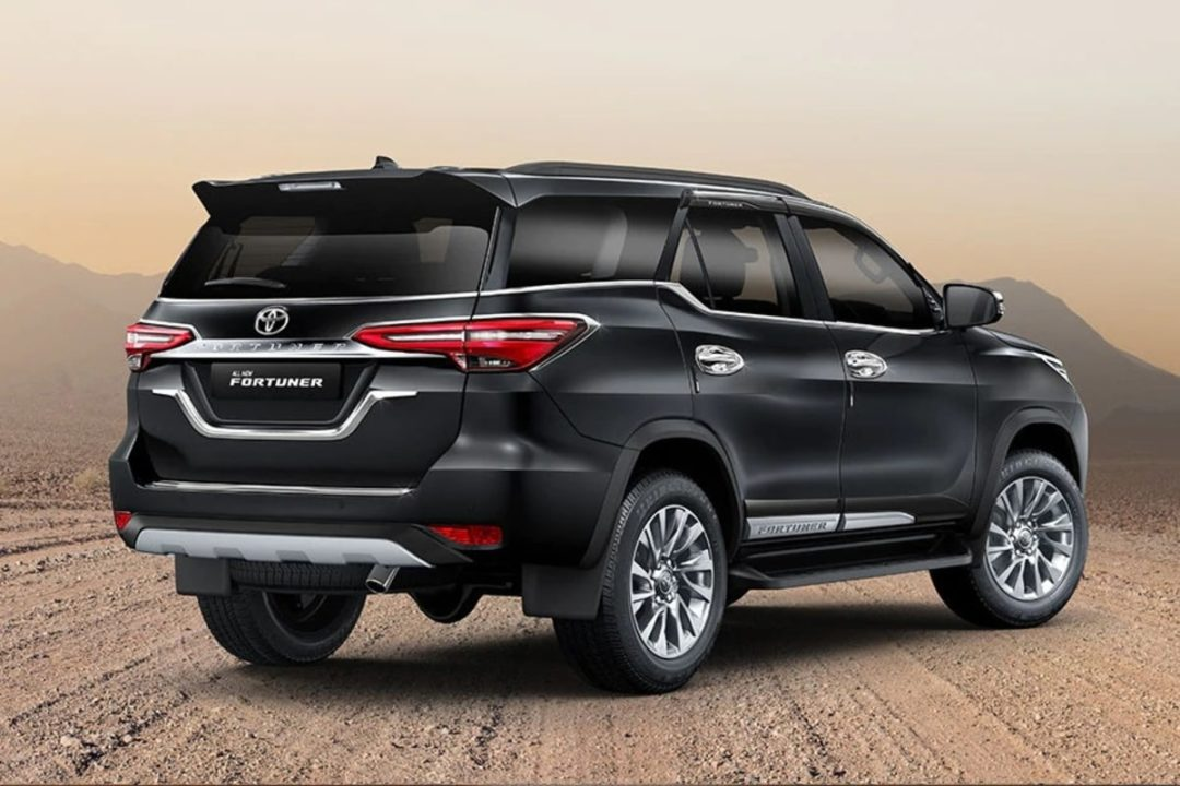 2021 Toyota Fortuner Official Accessories rear