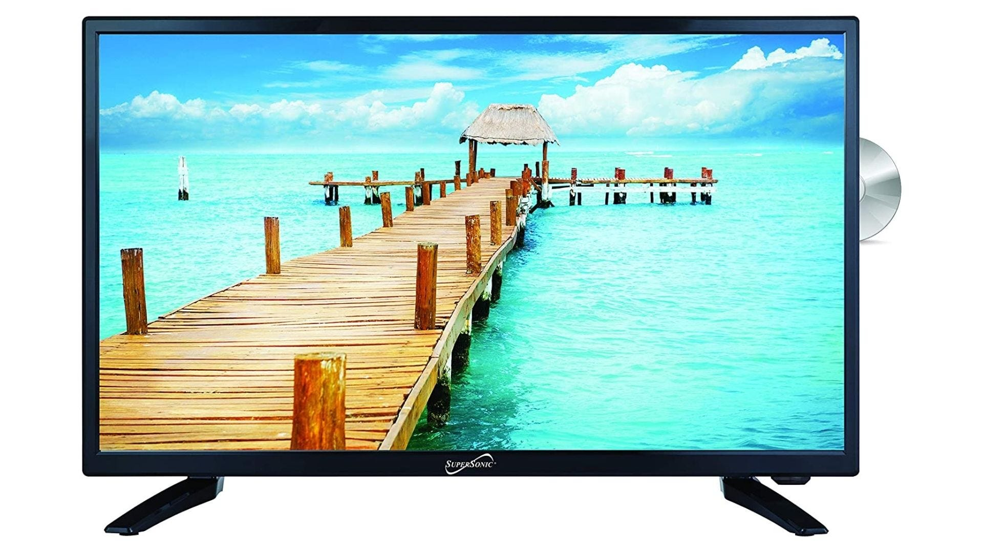 SuperSonic SC-2412 LED Widescreen HDTV
