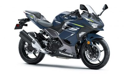 2021 Kawasaki Ninja 400 Metal Twilight Blue