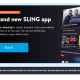 The banner appearing on Sling TV users Fire TV.