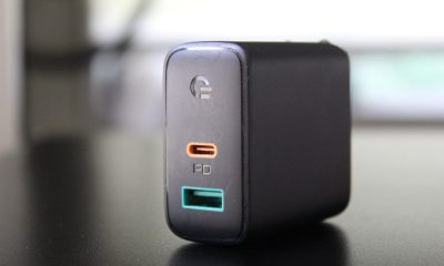An Aukey PD charger