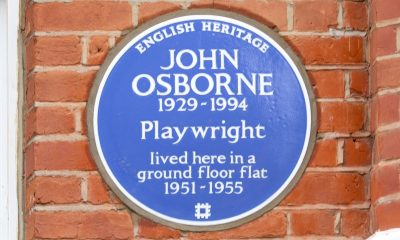 Blue Plaque for Hammersmith home of playwright John Osborne