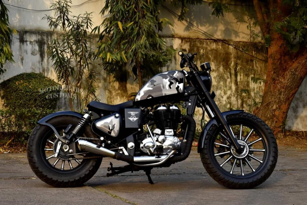Viserion 350 modified Royal Enfield