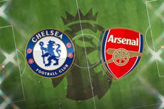 Chelsea FC vs Arsenal LIVE! Latest team news, lineups, prediction, TV, Premier League match stream today