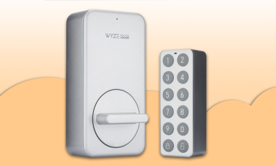 The Wyze Lock and Keypad.