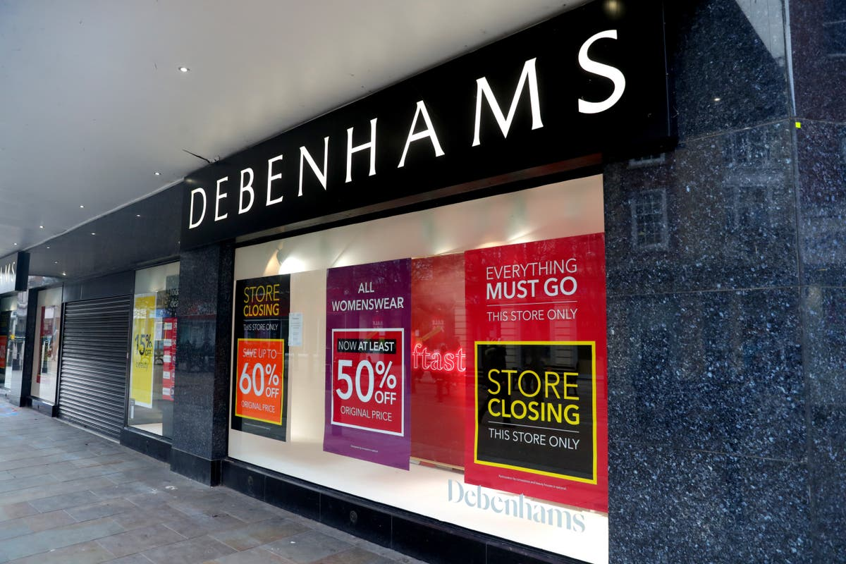 Debenhams closures: The department store chain lists the final 49 sites that will shut permanently