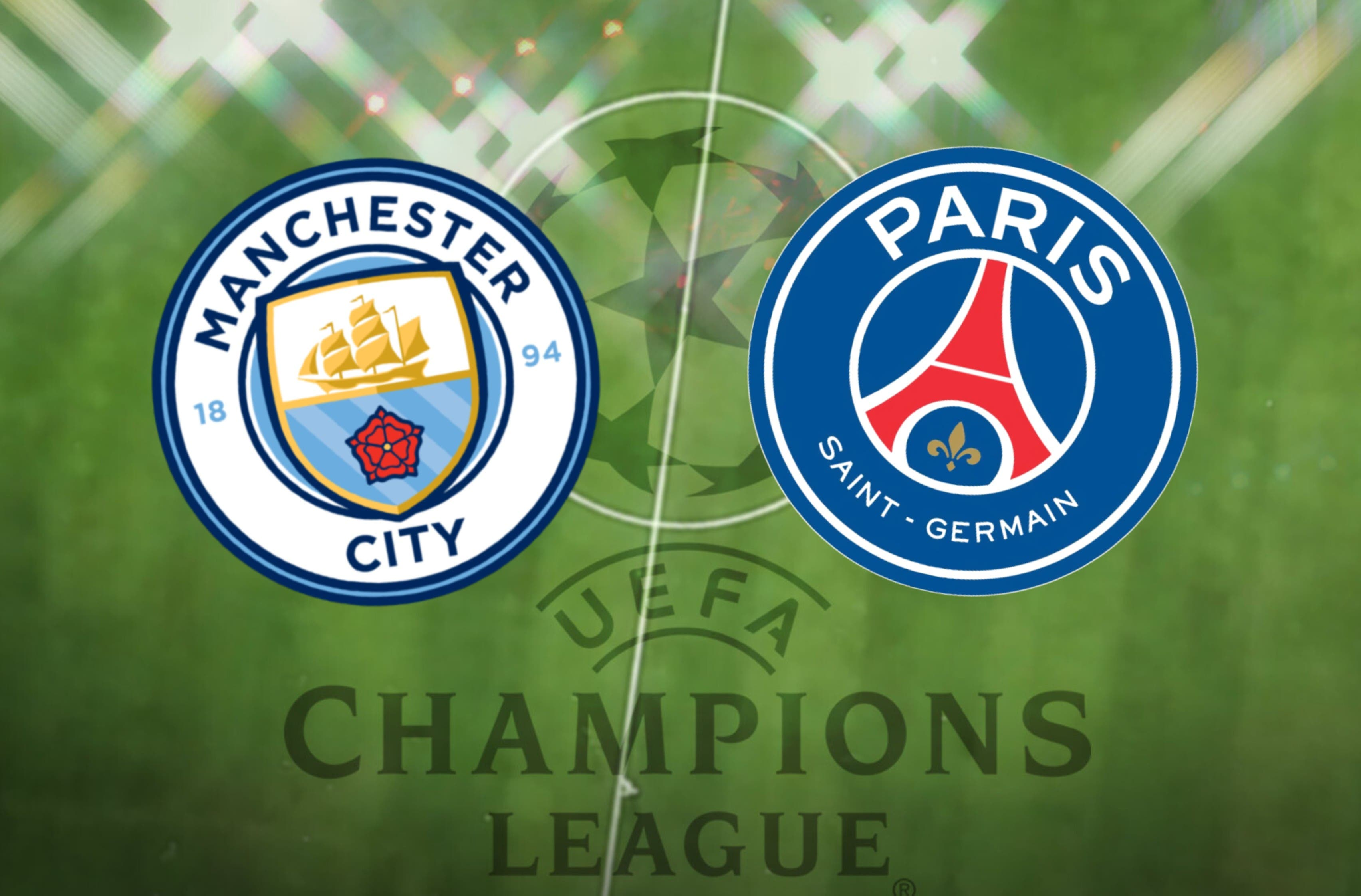 Man City vs PSG: Champions League prediction, time, TV, team news, lineups, live stream, h2h, odds - preview