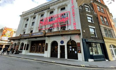 It's good to be back in the West End as theatre finally reopens