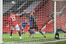 Manchester United 1-2 Leicester: Old Trafford result sees Man City confirmed as Premier League champions