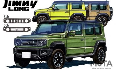 Suzuki Jimny LWB 5-door illustration