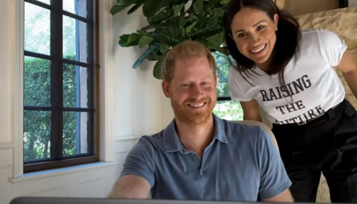 Meghan makes cameo in trailer for Harry's new mental health series