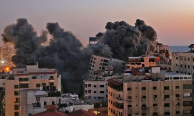 Missiles target Tel Aviv after Israeli attacks destroy Gaza buildings