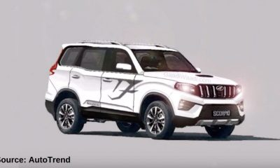 2020 Mahindra Scorpio Rendered 1