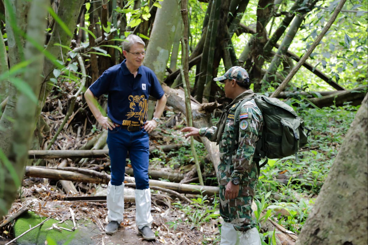 Q&A: The billionaire businessman fighting against the illegal wildlife trade