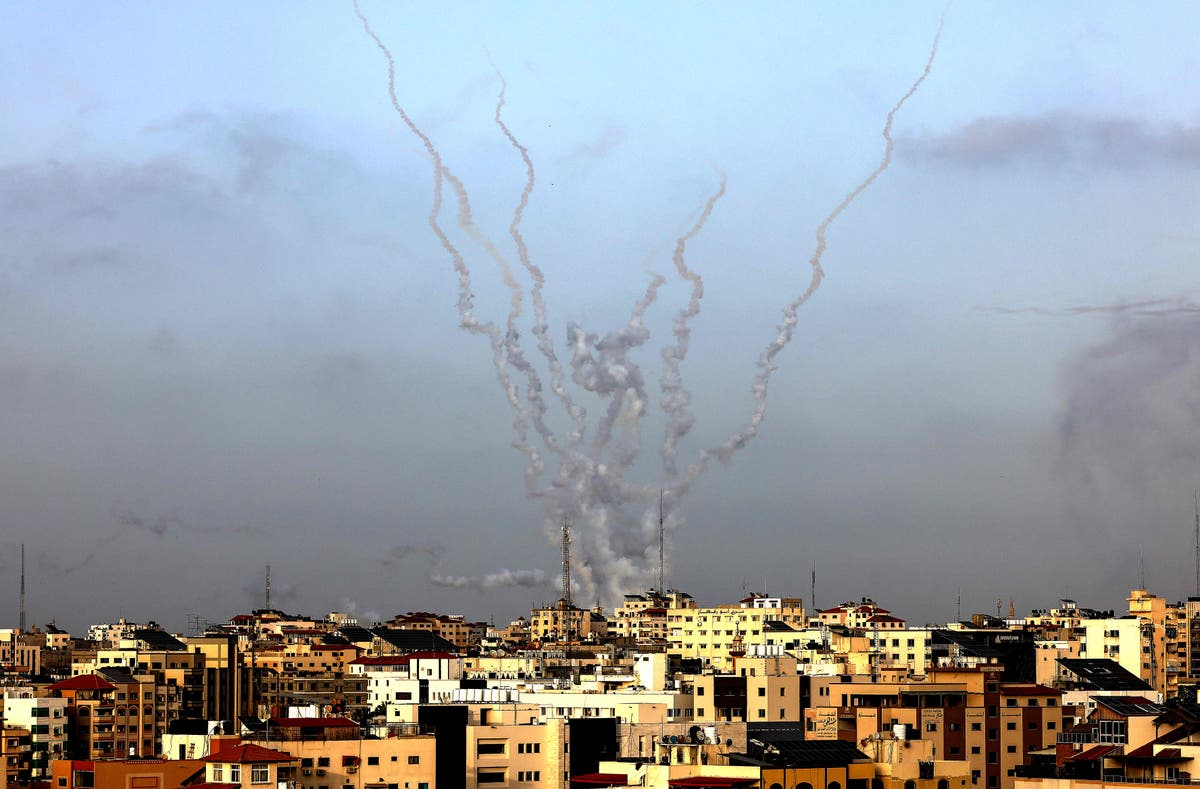 Rockets fired from Gaza towards Jerusalem as tensions mount