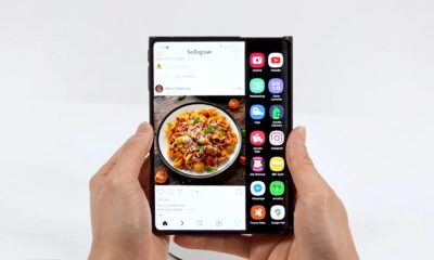 Samsung's rollable smartphone display