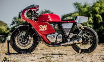 Royal Enfield Continental GT 650 modified 2