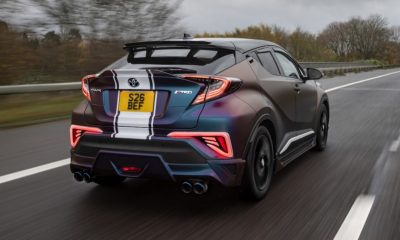 Toyota C-HR modified rear angle