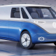The Volkswagen ID. Buzz electric van