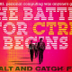"""Cover art for """"Halt and Catch Fire"""" with title in techno-glitchy letters against a bright 1980s colors"""