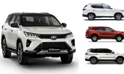 2021 Fortuner Vs Endeavour, Gloster, Alturas G4 – Price Comparison