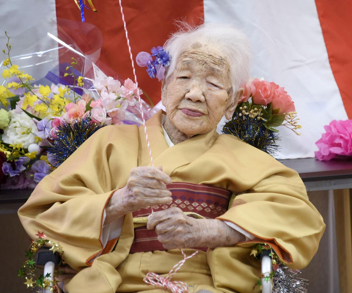 World's oldest person pulls out of Tokyo Olympics torch relay