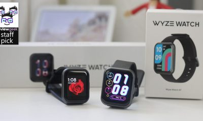 Both Wyze Watches side by side in front of their boxes