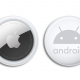 AirTags with an Android engraving