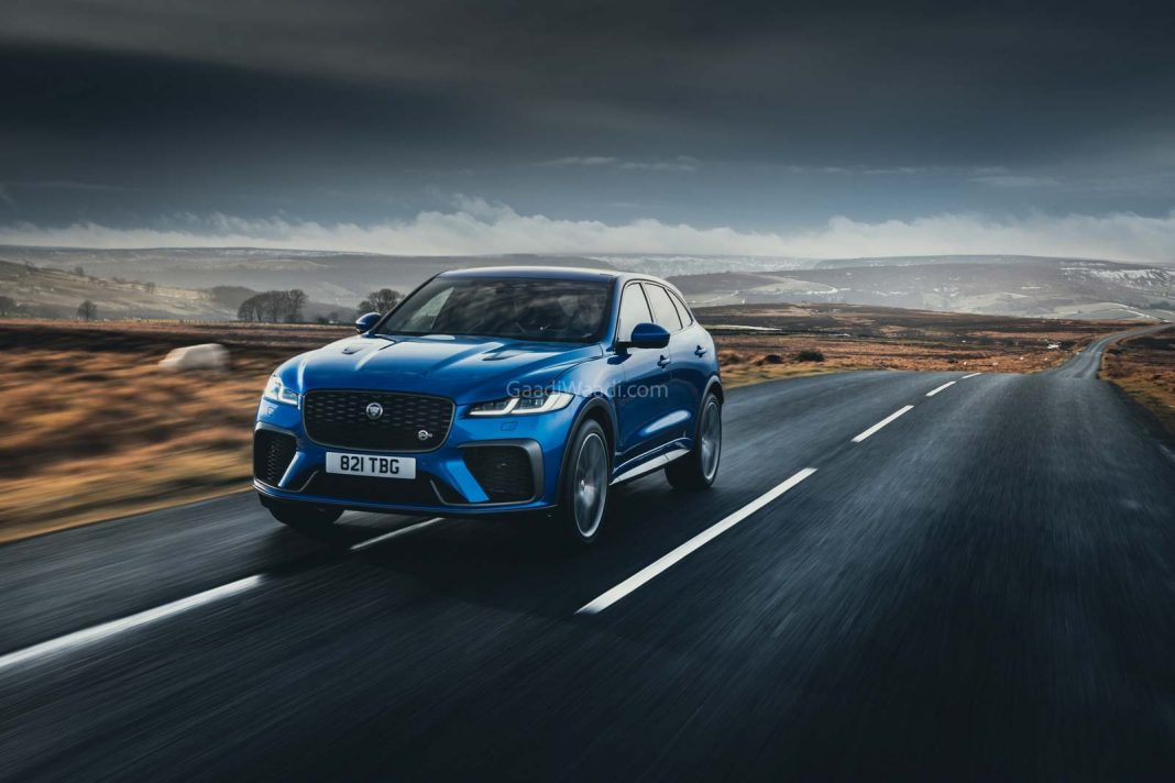 2021 Jaguar F-Pace SVR Bookings Open In India; 0-100 In 4 Seconds