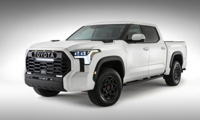 2022 Toyota Tundra First Look front angle