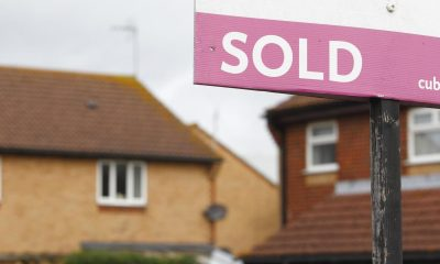 Annual UK house prices jumped 10.9% in May, Nationwide says