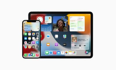 An Apple iPad and iPhone with Siri on the screen.