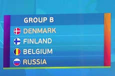 Euro 2020 Group B preview: Belgium, Russia, Finland, Denmark - fixtures, squads, match schedule, predictions