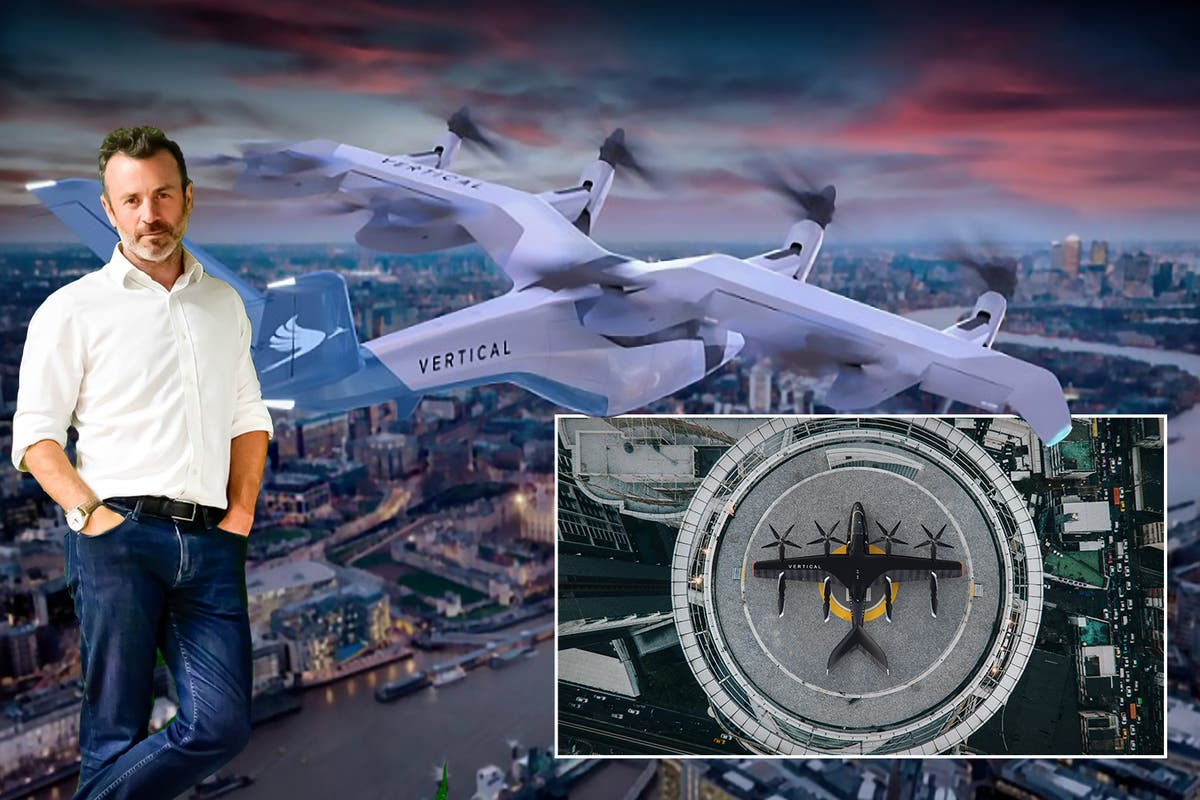 Britain's Elon Musk becomes billionaire as flying taxis ready for lift-off in London