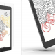 Two view of ZAGG's new InvisibleShield GlassFusion+ Canvas screen protector on an iPad