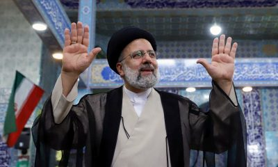 Iran votes in election with hardliner Ebrahim Raisi expected to win